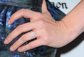 circle engagement ring with halo halo engagement rings ritani