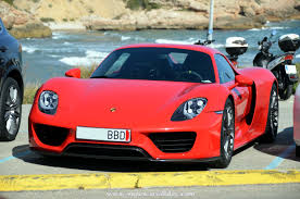 red porsche 918 porsche 918 spyder red supercars all day