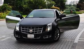 black cadillac cts cadillac cts coupe in matte black chrome in china carnewschina