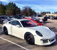 Porsche 911 White - 2015 porsche 911 carrera gts white on red 6speedonline porsche