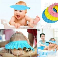 baby shower hat adjustable shower cap protect shoo for baby health bathing bath