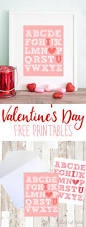 download this adorable free printable valentine u0027s day art to use