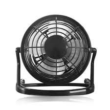 Quiet Desk Fan 4 Inch Mini Usb Desk Fan Small Powerful Cooling Fan Home Office
