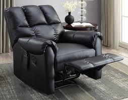 serta massage recliner black walmart com