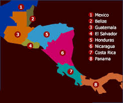 regions of mexico map interactive map of mexico central america