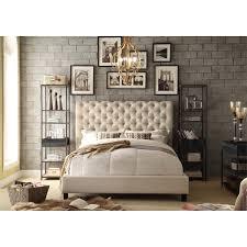 moser bay furniture calia tufted upholstered platform bed free