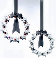 Swarovski Crystal Christmas Tree Decorations by Swarovski Jewelry Making Article Twinkling Yuletide Make