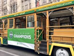 Hop On Hop Off Seattle Map by Seattle Throws Parade On Tuesday For Mls Cup Champion Sounders
