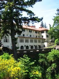 hotels in river oregon file columbia gorge hotel rear river oregon jpg wikimedia