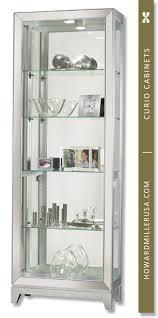 Curio Cabinets Shelves Curio Cabinets Contemporary Curio Cabinets Four Glass Shelf