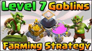 clash of clans archer queen clash of clans u2013 level 7 goblins super queen walk farming attack