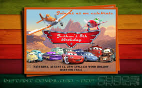 lightning mcqueen birthday invitations free printable invitation