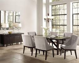 coaster dining room table classy coaster dining room furniture 7 pc table set in cappuccino