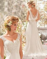 robe de mari e boheme chic magnifique robe de mariée style bohème chic romantique et moderne