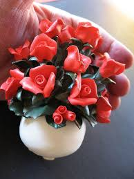 capodimonte roses 239 best capodimonte images on crystals porcelain and