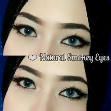 tutorial alis mata untuk wajah bulat tutorial alis tanpa dicukur natural smokey eyes youtube