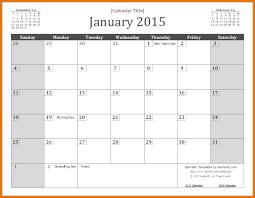 2015 monthly calendar template word 2015 wall calendar template
