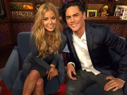 ariana madix hair extensions wwhl with ariana madix and tom sandoval