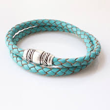 bracelet with magnetic images Leather wrap bracelet with magnetic clasp for men born in jpg