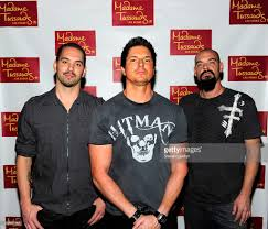 television personalities nick groff zak bagans and aaron goodwin from picture id130981154
