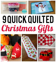 quilted christmas 9 quilted gifts to make in a flash