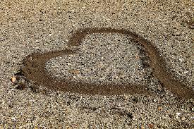 pavimentazione in ghiaia immagini spiaggia sabbia asfalto estate vacanza mare