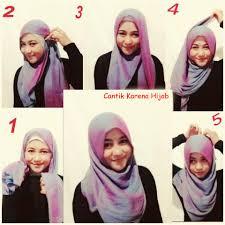 tutorial hijab pashmina kaos yang simple 21 tutorial hijab pashmina anak muda tutorial hijab terbaru tahun 2017