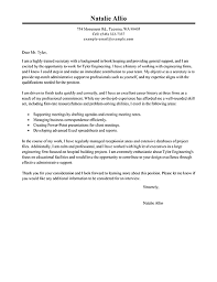 epic cover letter examples for secretary position 15 about remodel