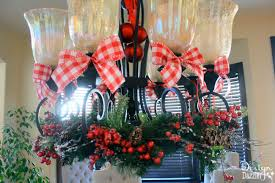 christmas dining room decor u0026 how to tie a simple bow design