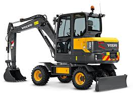 volvo media site volvo ew60e compact wheeled excavator makes north american debut