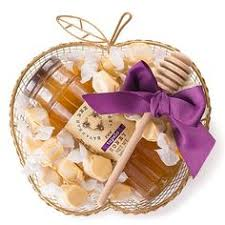 apple shaped honey basket sweet honey and baskets