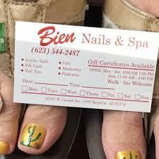 bien nails 10 reviews nail salons 14545 w grand ave