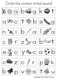 letter sounds worksheet worksheets