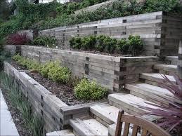 Landscaping Ideas For Hillside Backyard Steep Backyard Landscaping Ideas
