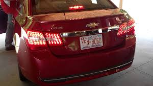 2014 cruze tail lights future cruze tail lights from technostalgia youtube
