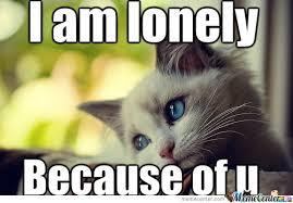 Lonely Meme - lonely kitten by prettyaniana meme center