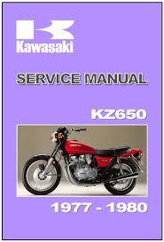 kawasaki workshop manual kz650 z650 ltd sr 1977 1978 1979 u0026 1980