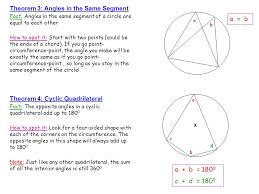 The Interior Angles Of A Triangle Always Add Up To Angles In The Same Segment Lessons Tes Teach
