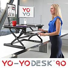 mobile standing desk computer workstation amazon co uk kitchen