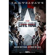 amazon captain america civil war movie poster 2 sided