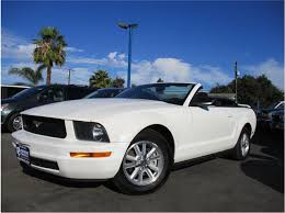 2008 mustang used 2008 used ford mustang 2dr convertible deluxe at premium finance