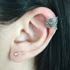 where to get cartilage earrings cartilage chain earrings ecuatwitt