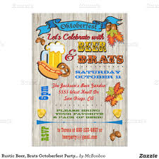 Olympic Invitation Cards Rustic Beer Brats Octoberfest Party Invites Octoberfest Party