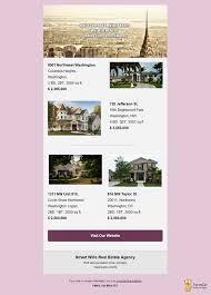 real estate listing template 10 free real estate email templates for agencies realtors