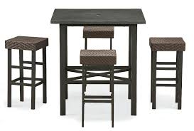 Patio Furniture Dining Sets - ty pennington style sunset beach 5pc high dining set