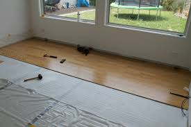 how to install hardwood floor part 1 moving insider