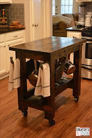 diy kitchen island cart build a kitchen island cart rust oleum creator s studio project