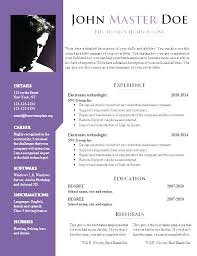 resume templates word docx free resume template doc luxsos me