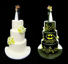 batman wedding cake two toned cake split cake youtube