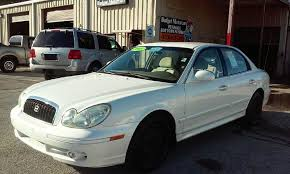 hyundai sonata 2003 2003 hyundai sonata 4dr sedan in ta fl budget motorcars
